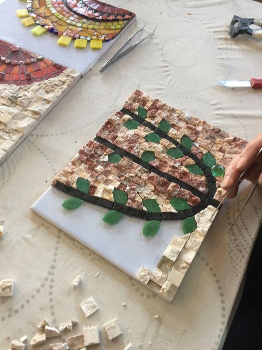 Mozaik Sanat Evi Balconies, verandas & terraces Accessories & decoration Tiles