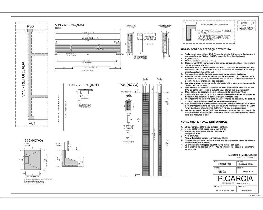 P.GARCIA | Projetos Técnicos Pisos Concreto Gris