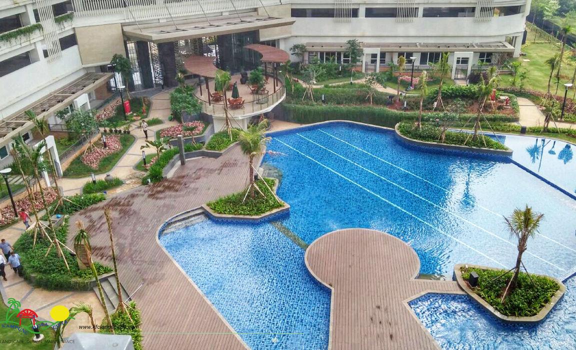 PT. Kampung Flora Cipta Modern hotels Green
