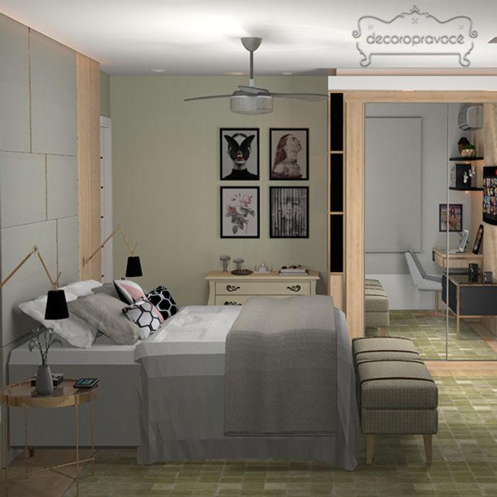 Decoropravocê - Decoração ao seu alcance. Modern Bedroom