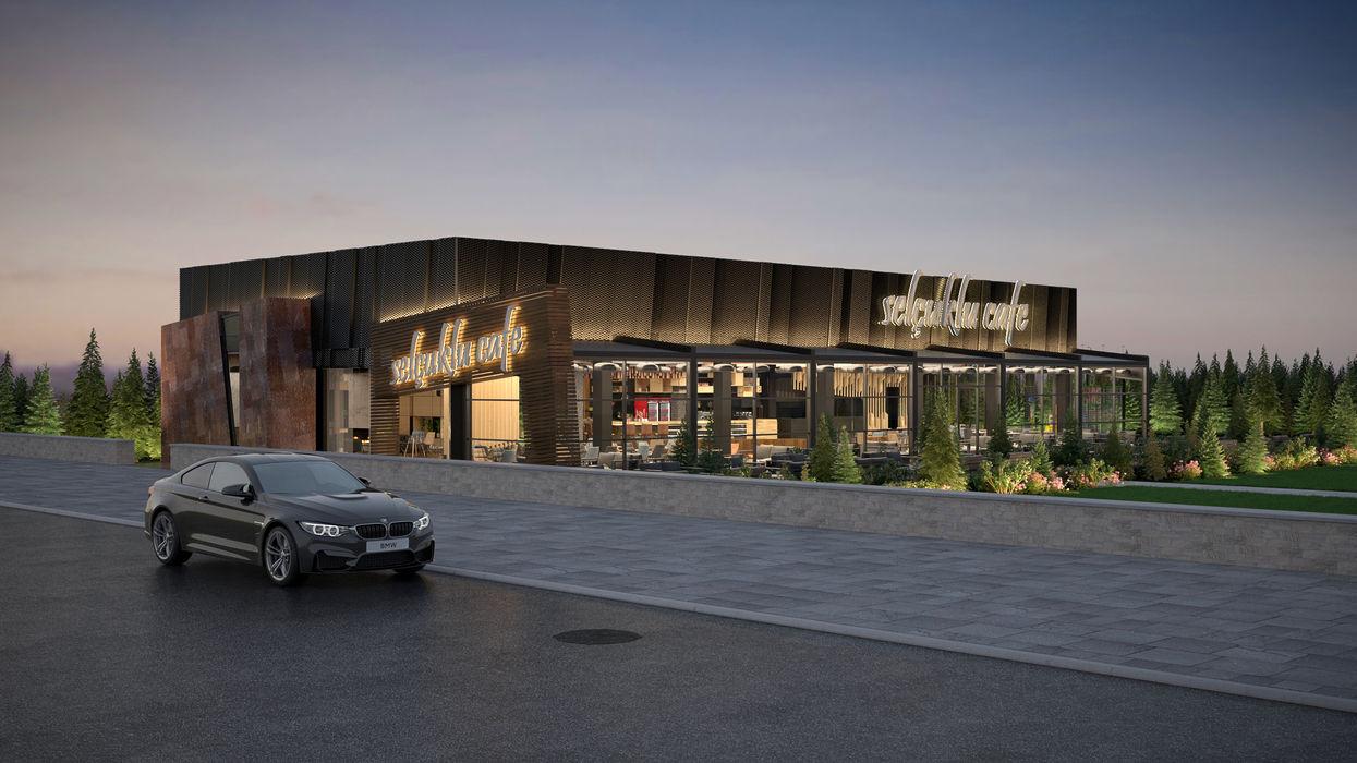 Dündar Design - Mimari Görselleştirme Modern dining room