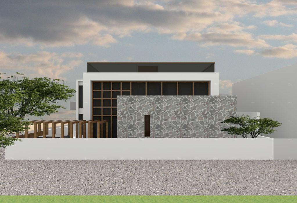 Front Elevation Bodhivraksh Design Studio Bungalows