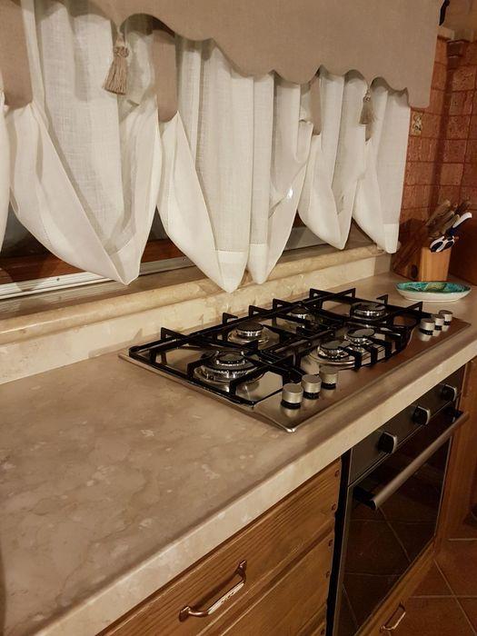 CusenzaMarmi Mediterranean style kitchen Stone Beige