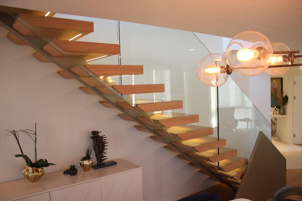 Nuhoğlu İnş. Yenitepe - Kadıköy / İSTANBUL Visal Merdiven Koridor, Hol & MerdivenlerMerdivenler