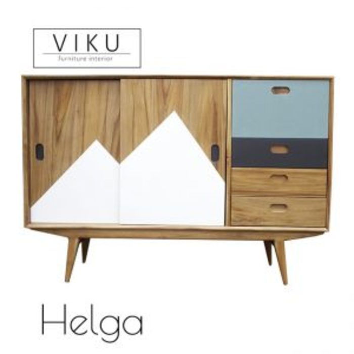 Helga Console viku Corridor, hallway & stairsAccessories & decoration Kayu Brown