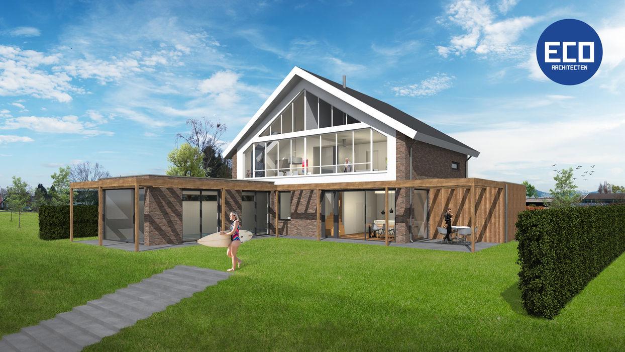 Villa met zwembad Lent ECO architecten Villa