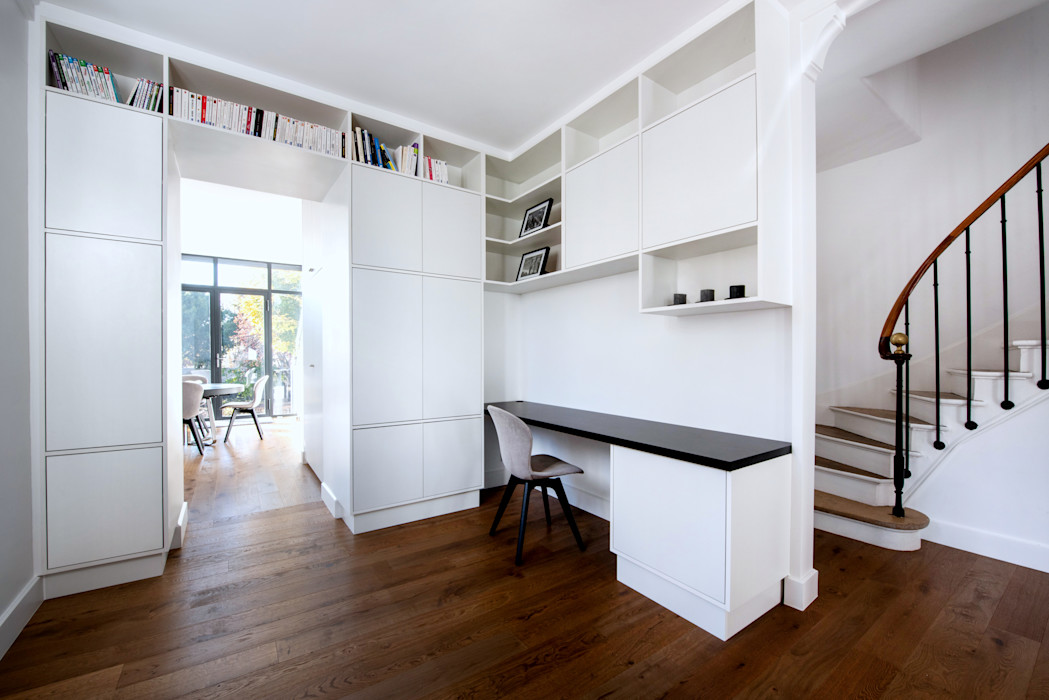 Anne Lapointe Chila Modern study/office White