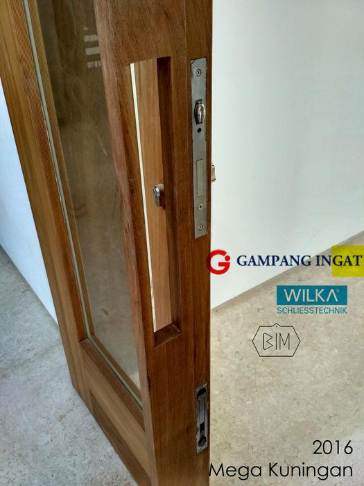 Double-Swing-Door (Pintu Ayun Dua Daun) Gampang Ingat Windows & doors Doorknobs & accessories