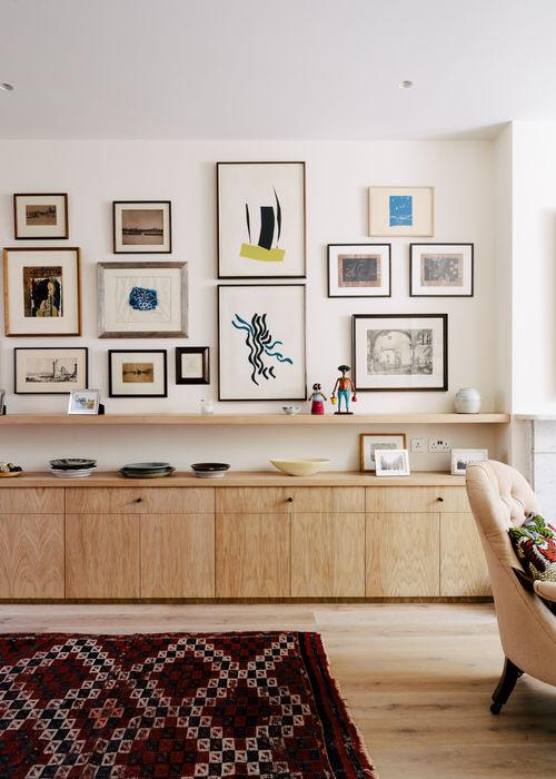 Gallery House Neil Dusheiko Architects Modern living room