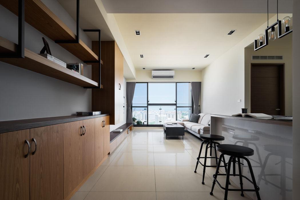 新竹慈雲路夢想市 楊公館 築室室內設計 牆面