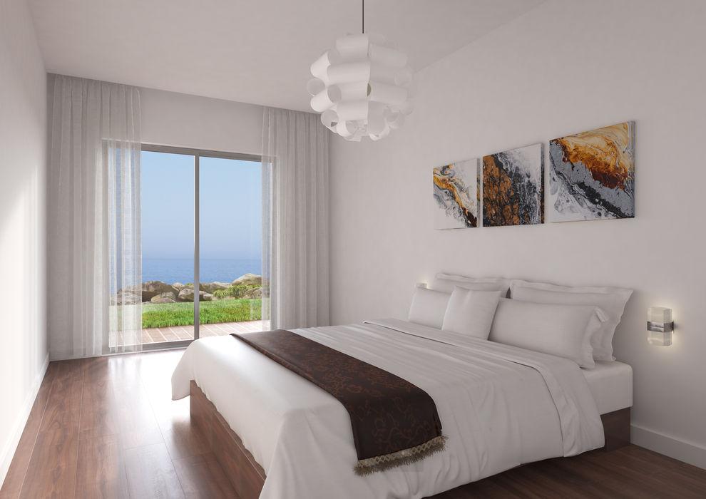 Marvic Projectos e Contrução Civil Moderne Schlafzimmer