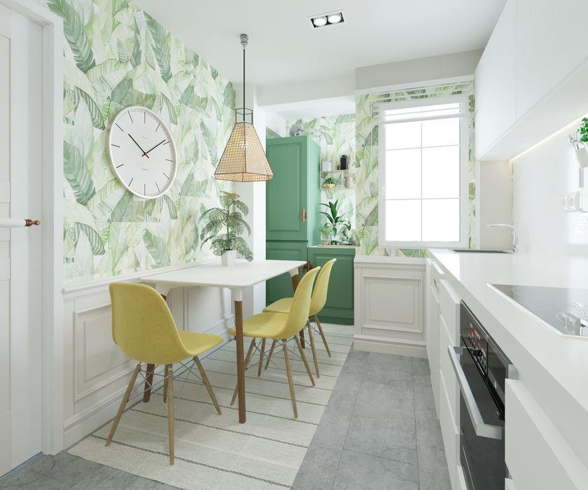 NRN diseño de interiores Dapur kecil