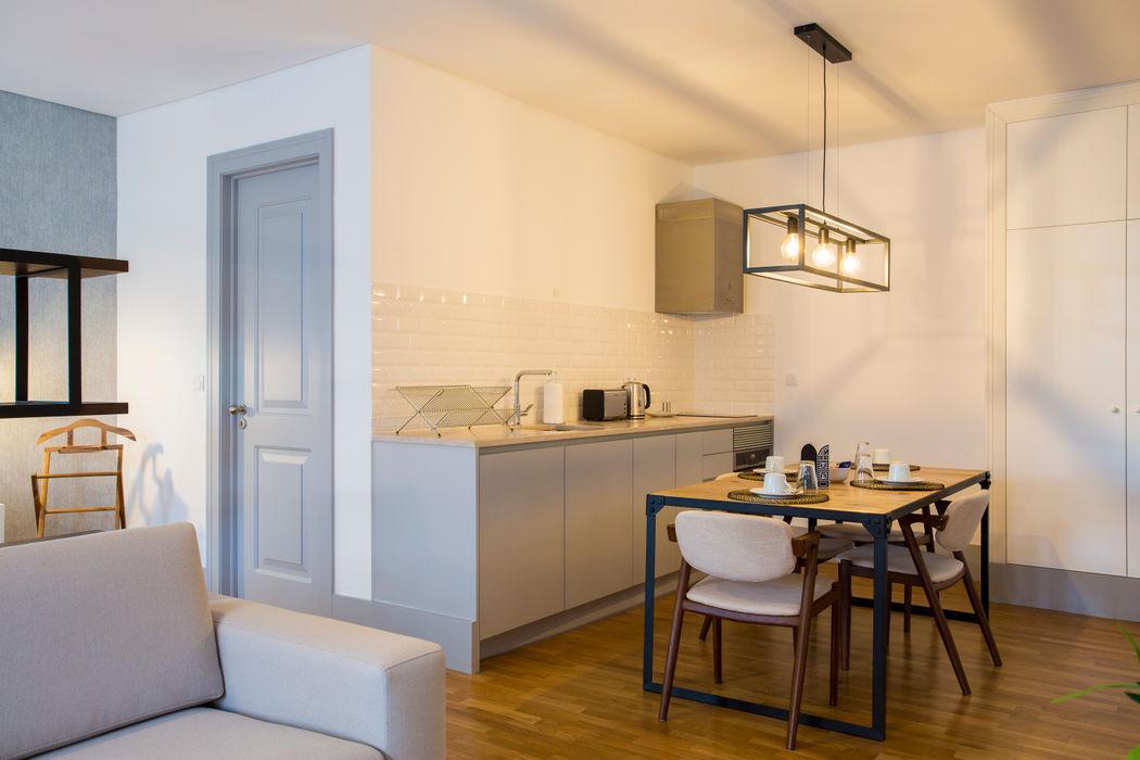 Open Space - Polais, Lisboa Traço Magenta - Design de Interiores Sala de jantarAcessórios e decoração