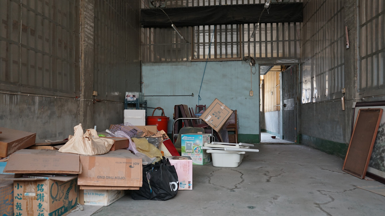 老屋翻新 巷‧日閣   3F 閒置空間 翻新前 有隅空間規劃所
