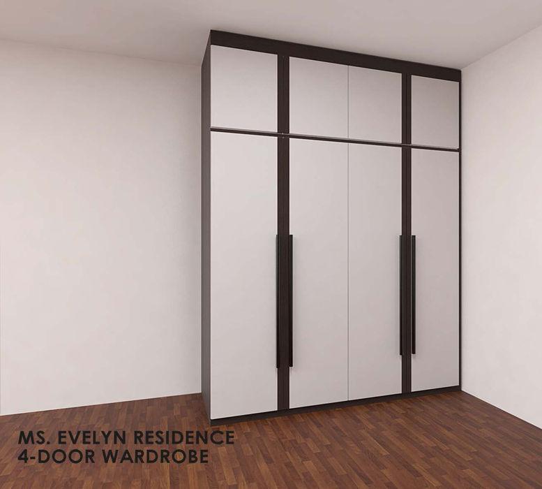 Swish Design Works DormitoriosClósets y cómodas