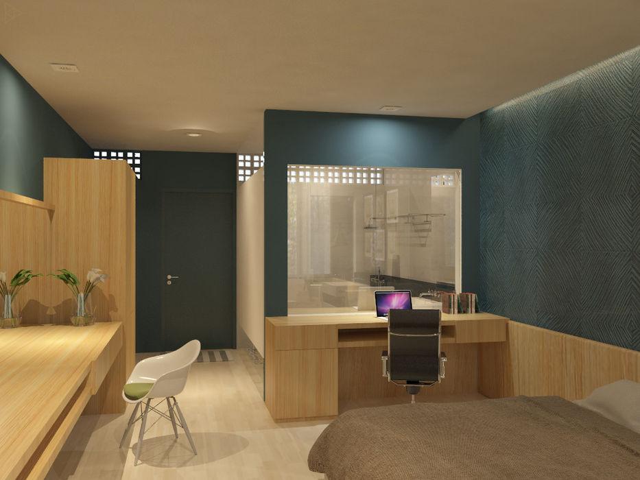 Superior Room TIES Design & Build Hotel Minimalis