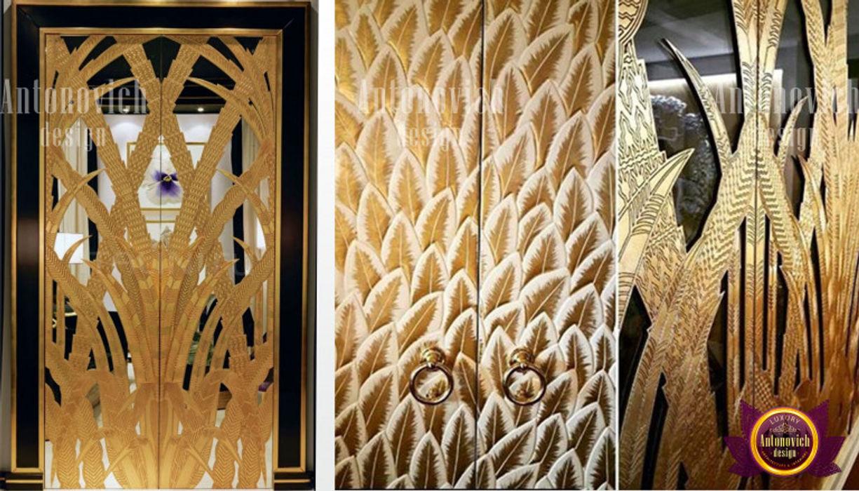 Welcoming Door Decor Luxury Antonovich Design