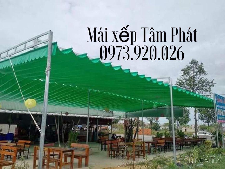 Thiết kế và thi công mái che quán nhậu tại Bình Dương, Đồng Nai, TP Hồ CHí Minh CÔNG TY TNHH CK XD TM DV TÂM PHÁT