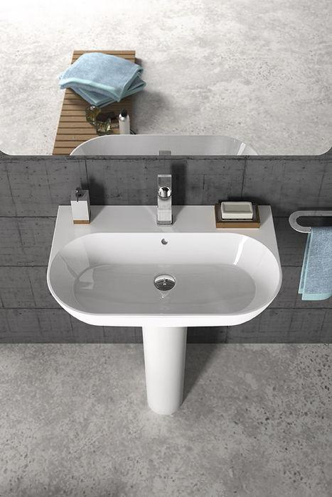 lavatório de coluna Melissa vilar Casa de banhoPia