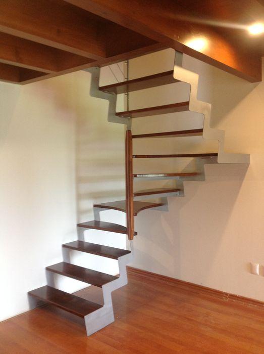 Escalera modelo ORLANDO HELIKA Scale Escaleras Madera Acabado en madera