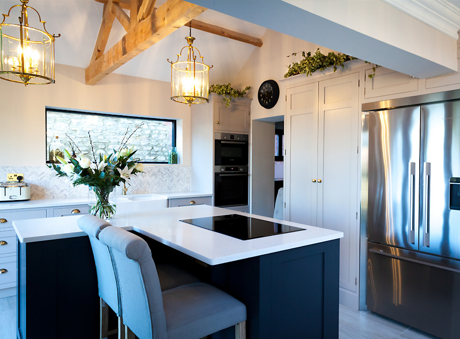 Stunning Cogenhoe Kitchen The White Kitchen Company Kitchen units