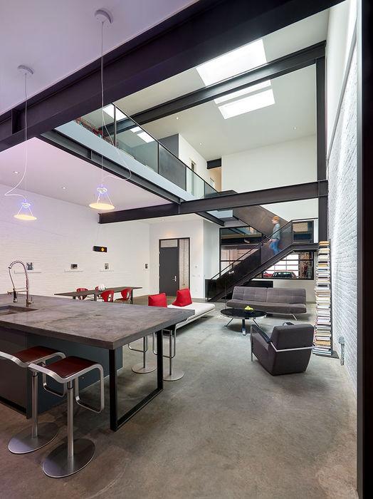 KUBE architecture آشپزخانه