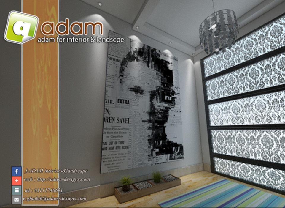 ADAMfor interior&landscpe Interior landscaping Stone Multicolored