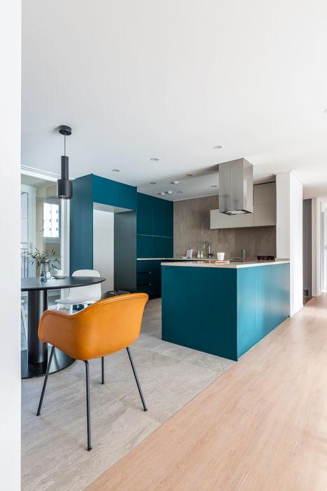 아파트멘터리 Moderne Küchen
