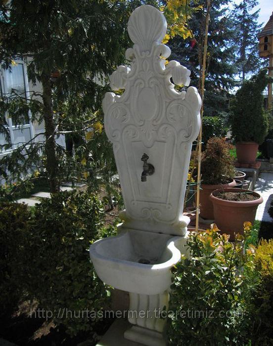 Mermer Çeşme Hürtaş Mermer BahçeAksesuarlar & Dekorasyon