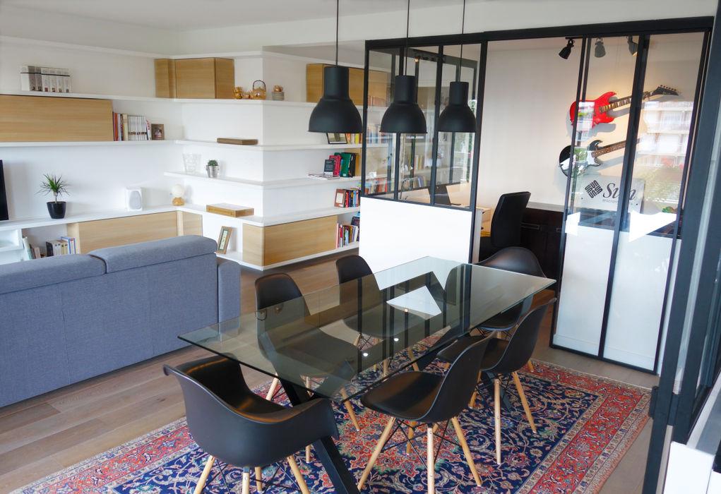 Créateurs d'Interieur Scandinavian style living room