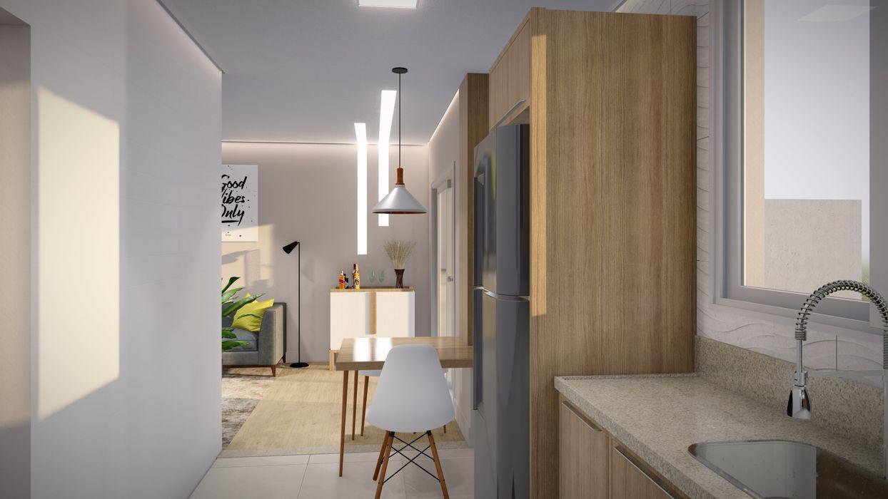 Studio MP Interiores Modern Living Room