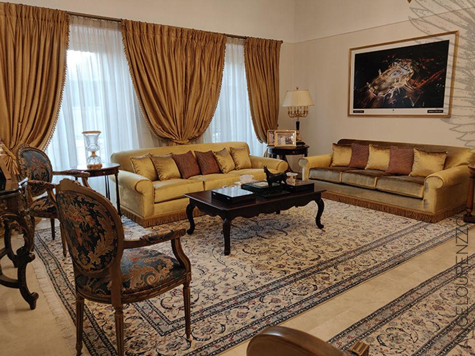 Embaixada do Reino da Arábia Saudita Angelourenzzo - Interior Design Sala de estarSofás e divãs