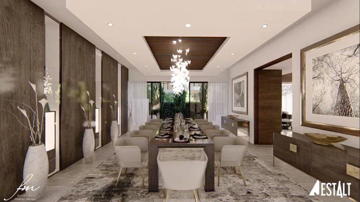 Hyde Park Luxury residence FRANCOIS MARAIS ARCHITECTS Modern dining room
