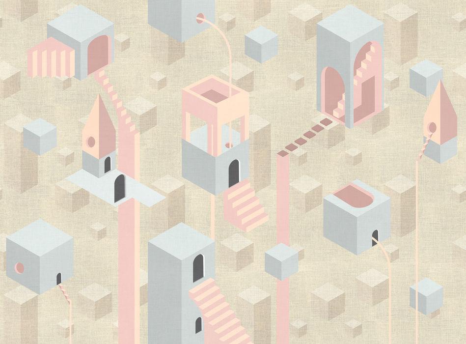 NAME32 Beige Tecnografica Modern Walls and Floors Beige
