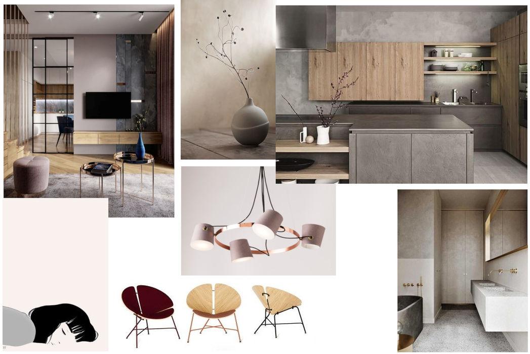 PRESTIGE-KURSY Minimalist living room