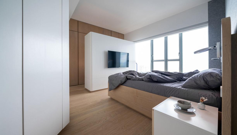 VM's RESIDENCE arctitudesign Minimalist bedroom