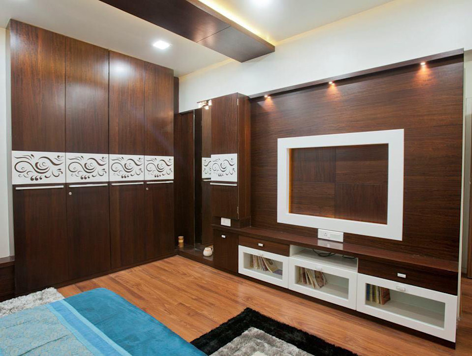 Mr Jerin Konikara   2BHK   Full Furnished Home Homagica Services Private Limited BedroomWardrobes & closets