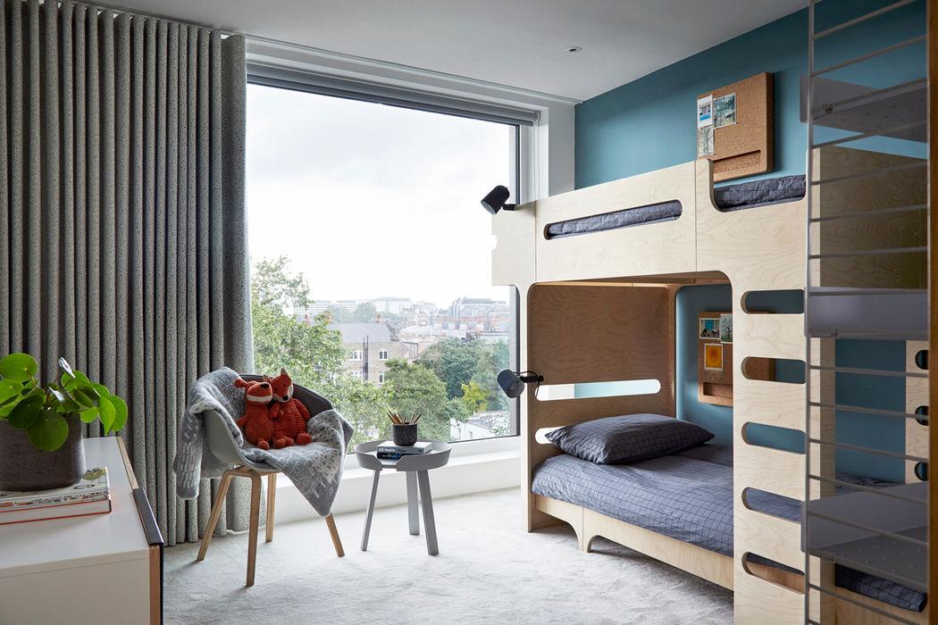 Benson House - Kids Room Sandra Flashman Studio Kamar Tidur Modern