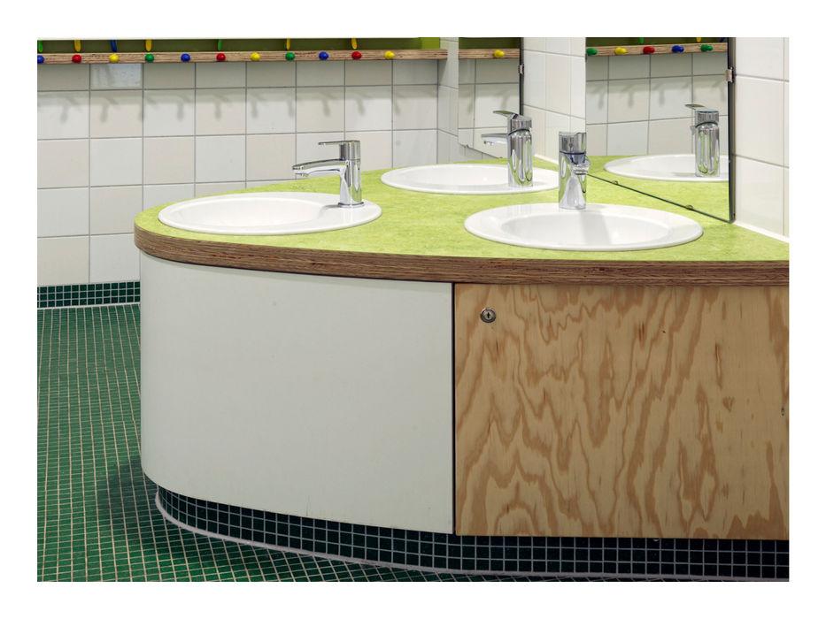 Weinkath GmbH Modern Bathroom Chipboard Multicolored