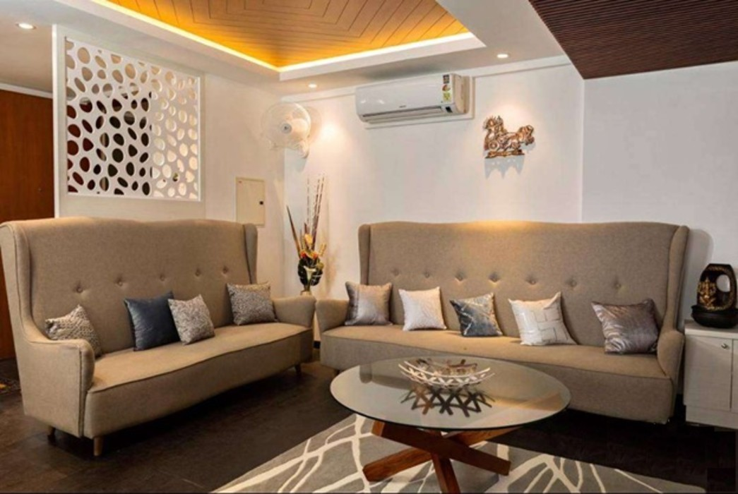 Living Room Homagica Services Private Limited Living roomSofas & armchairs