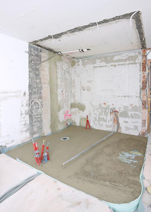 Sistema de compensación para paredes irregulares Wedi GmbH Sucursal ESPAÑA Hoteles de estilo moderno