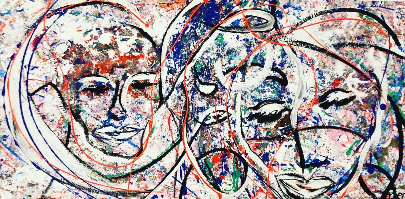 Freie Kunst ІлюстраціїКартини та картини Природні волокна