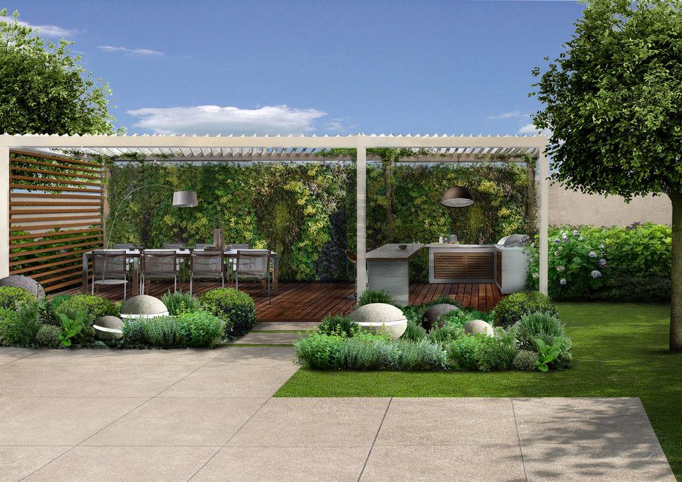 Verde Progetto - Adriana Pedrotti Garden Designer Front yard White