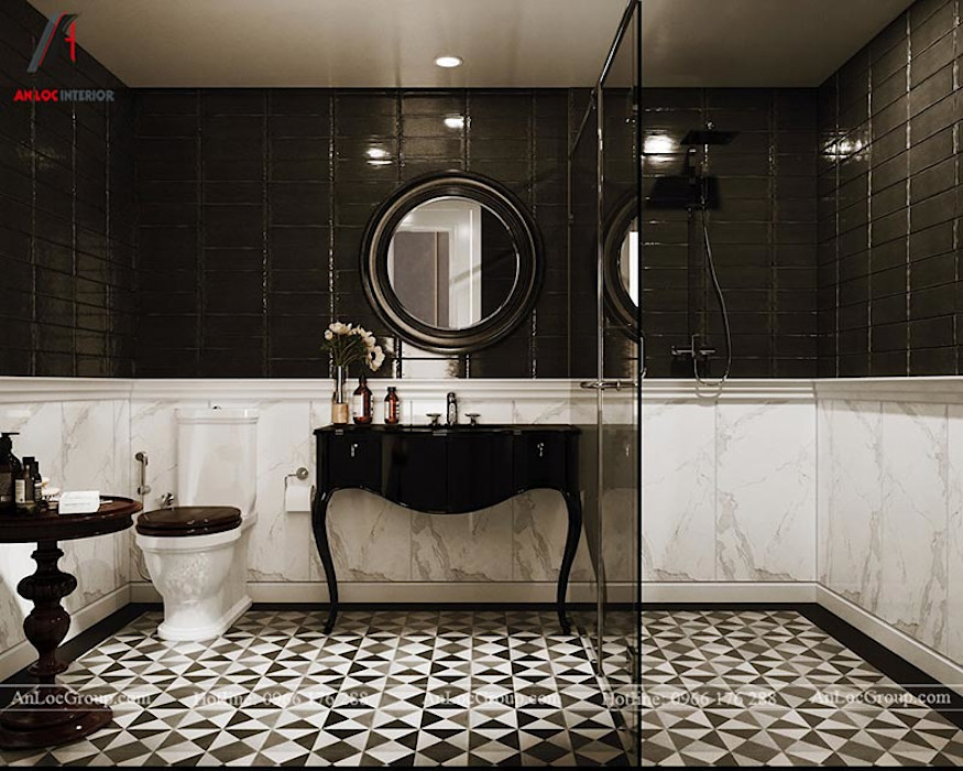 Nội Thất An Lộc Classic style bathrooms