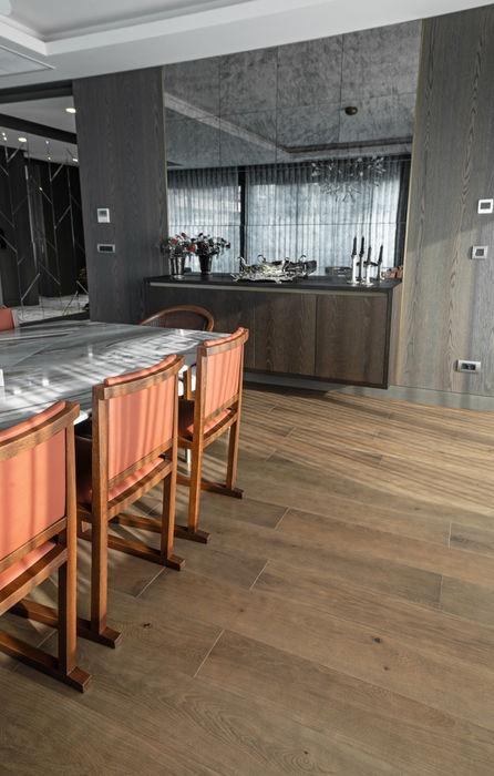 OAK ISLANDER GREY Lantana Parke Modern Oturma Odası Ahşap