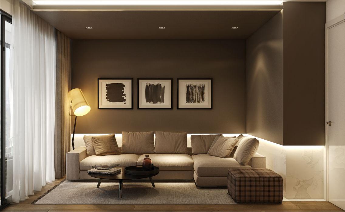 WALL INTERIOR DESIGN Modern Bedroom