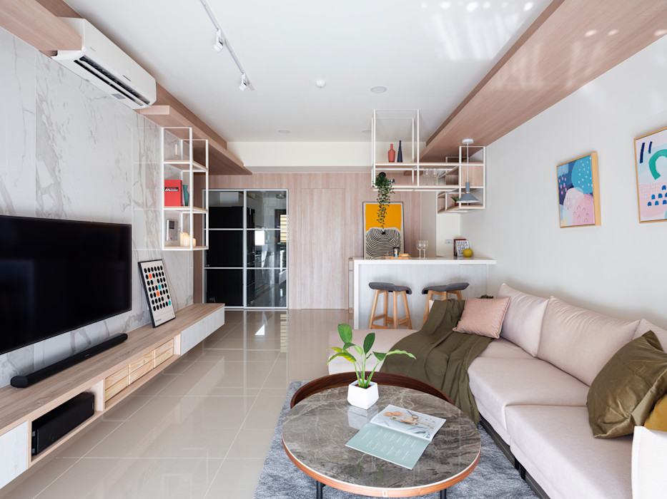 新世紀特區 榯榯空間設計/和倫營造有限公司 客廳