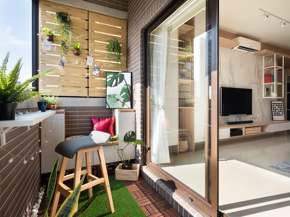 新世紀特區 榯榯空間設計/和倫營造有限公司 前院