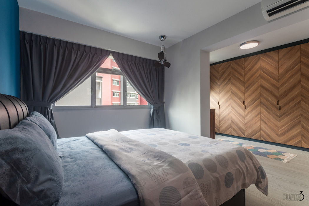 Bedroom Chapter 3 Interior Design Eclectic style bedroom