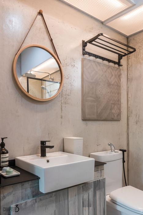 Master Bathroom Chapter 3 Interior Design Eclectic style bathroom